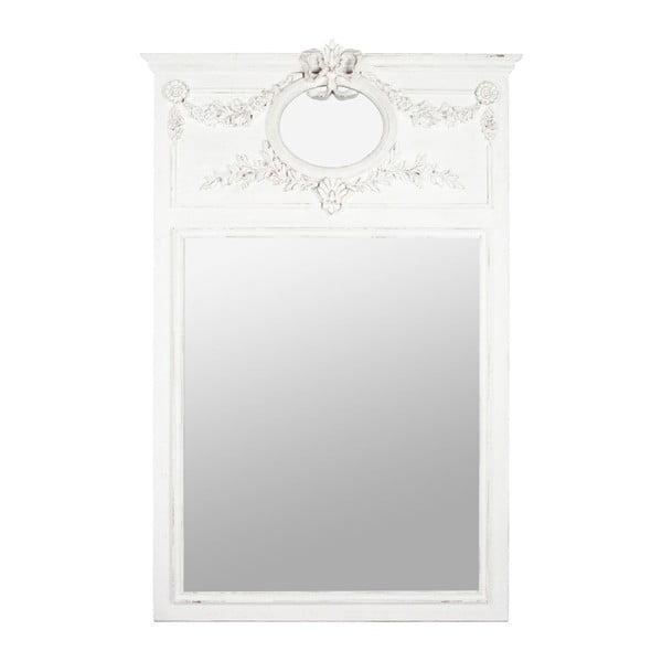 Zrcadlo Ornament White
