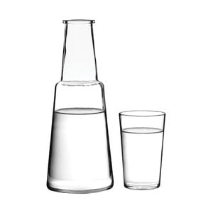 Skleněná karafa s pohárkem Premier Housewares Carafe & Tumbler