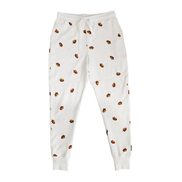 Pánské bílé kalhoty Snurk Winternut, vel. L