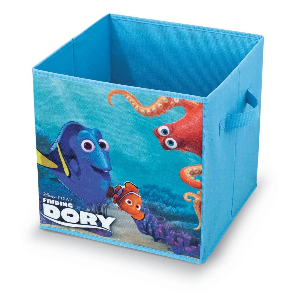 Úložný box na hračky Domopak Finding Dory, 32 x 32 cm