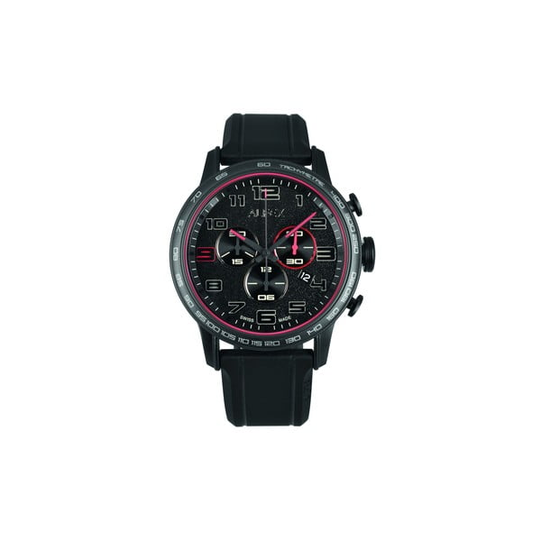 Pánské hodinky Alfex 56727 Black/Black