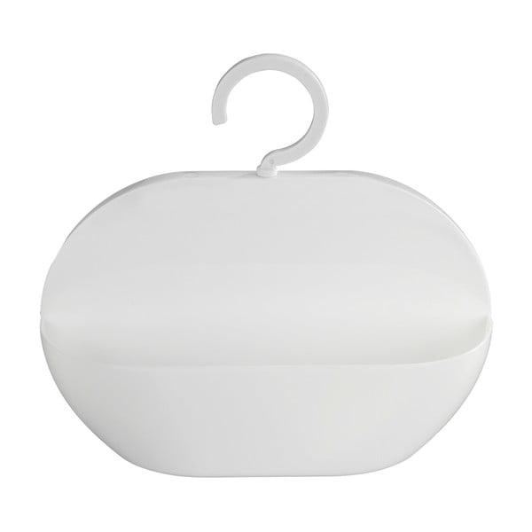 Bílý závěsný košík Wenko Cocktail