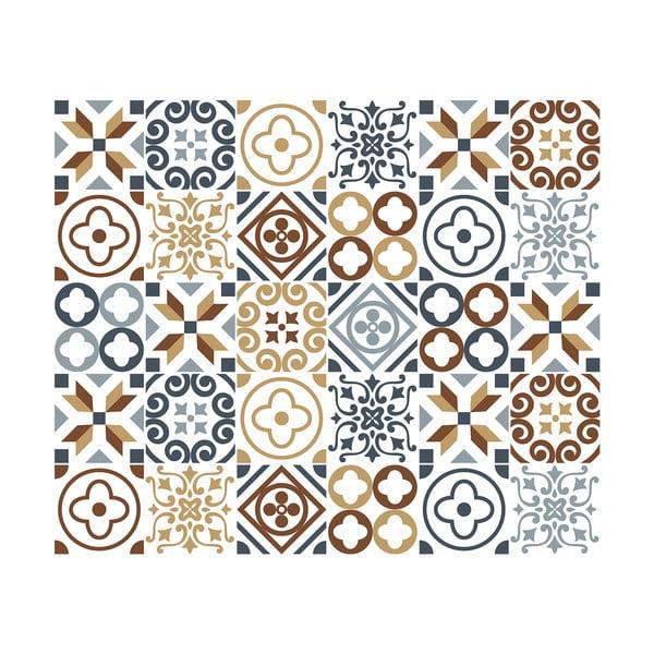 Set 30 autocolante perete Ambiance Ninocito, 15 x 15 cm