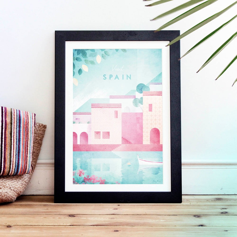 Plakát Travelposter Spain, A2