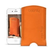 Kožený obal na iPhone 4/4s Cognac
