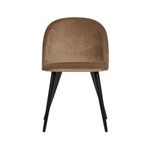 Sada 2 hnědých jídelních židlí WOOOD Fay
