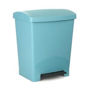 Tyrkysový pedálový odpadkový koš Ta-Tay Optimist, 25 l