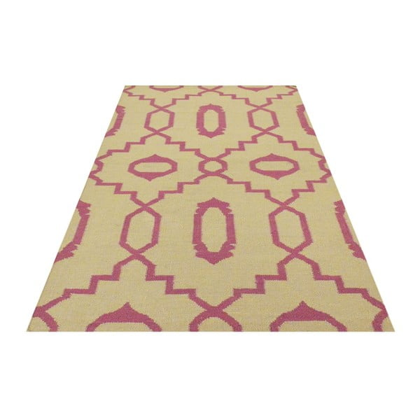 Ručně tkaný koberec Kilim JP 11019 Pink, 90x150 cm
