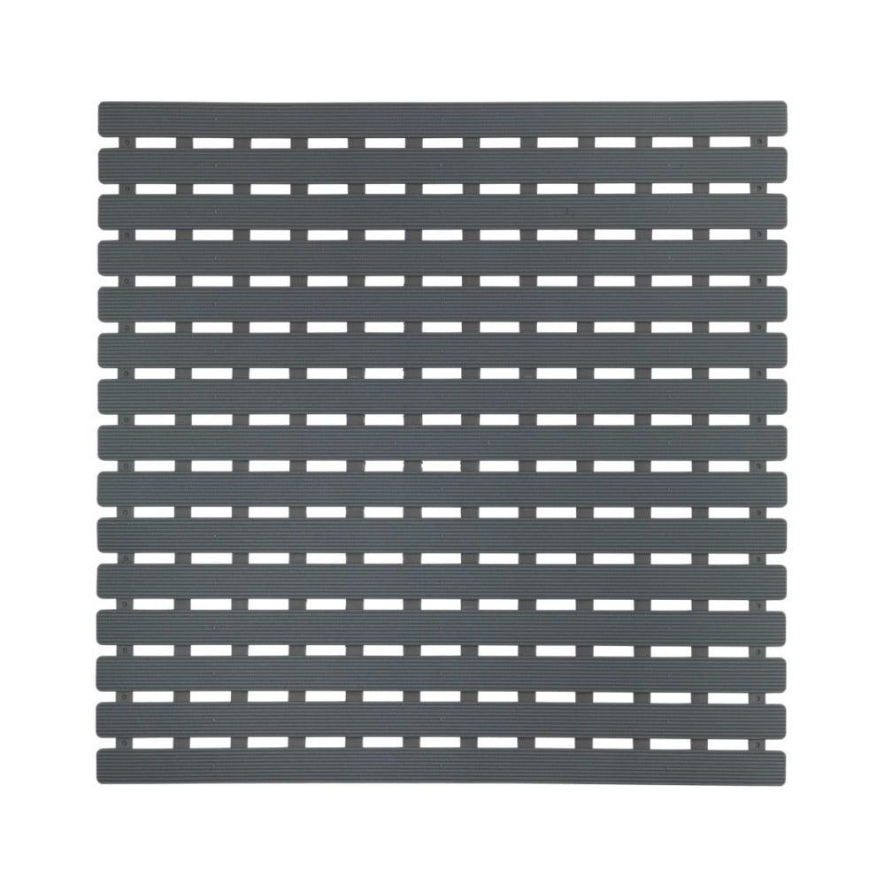 Tmavě šedá podložka do sprchového koutu Wenko Arinos, 54 x 54 cm