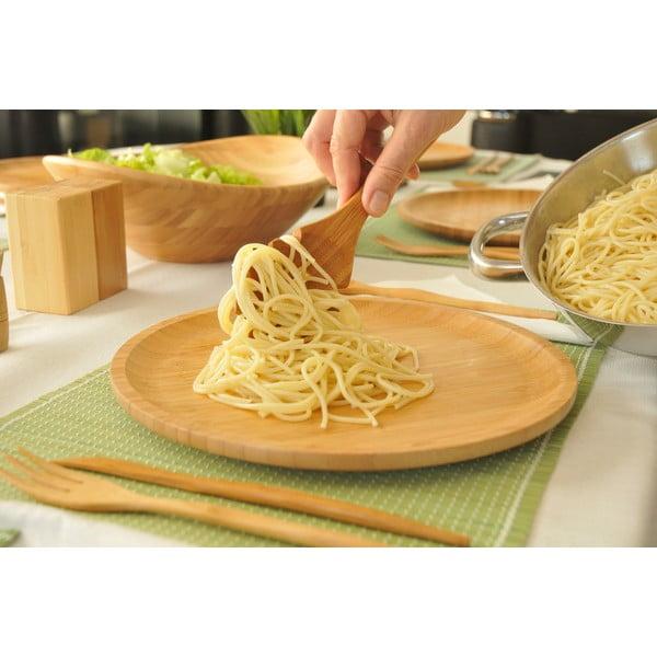 Bambusová naběračka na špagety Bambum