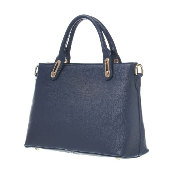 Kožená kabelka Mood Glam Blue