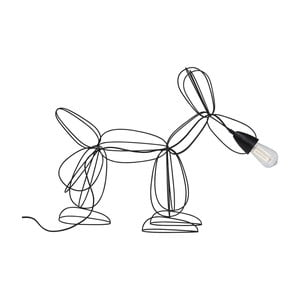 Veioză Kare Design Dog, negru