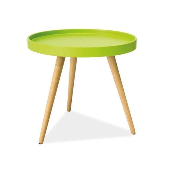 Konferenční stolek Toni 50 cm, zelený