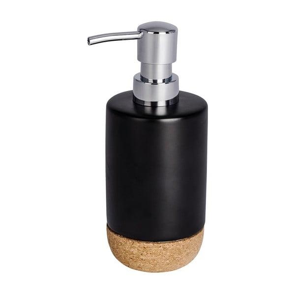 Dozator săpun lichid Wenko Corc, negru