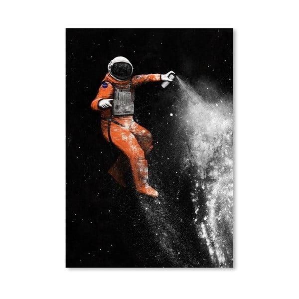 Plakát Astronaut od Florenta Bodart, 30x42 cm