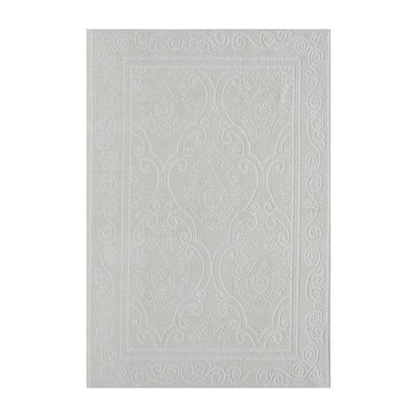 Krémový odolný koberec Vitaus Primrose, 80x200cm