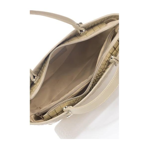Kožená kabelka Kellie, taupe