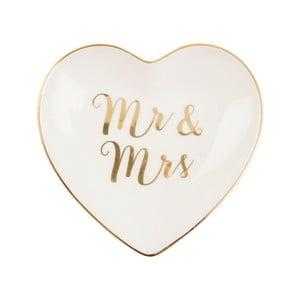 Farfurie din ceramică Sass & Belle Gold