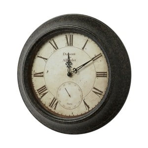 Kovové hodiny, 33 cm