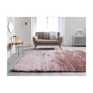 Růžový koberec Flair Rugs Serenity Pink, 160 x 230 cm
