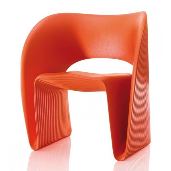 Oranžové křeslo Magis Raviolo