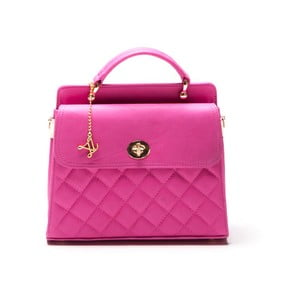 Kabelka Quilted Fucsia