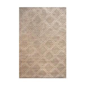 Ručně vyráběný koberec The Rug Republic Jovan Natural, 160 x 230 cm