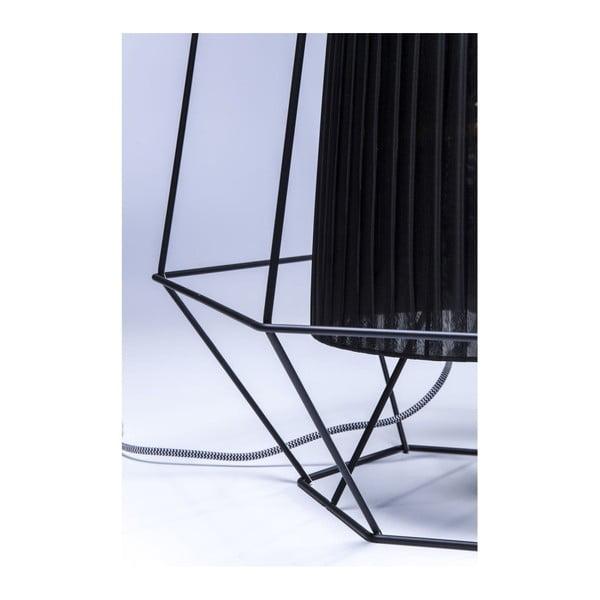 Černá stolní lampa Kare Design Wire