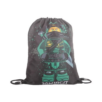 Rucsac tip sac LEGO® NINJAGO Lloyd, gri imagine