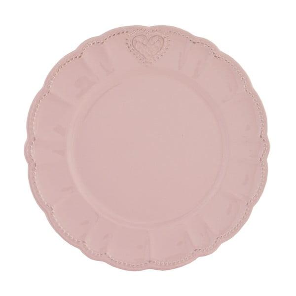 Keramický talíř Roses, 26 cm