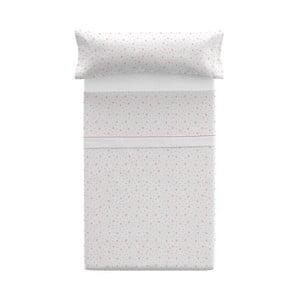 Set povlaku na polštář a prostěradla Pooch Asterisk Coral, 125x45cm
