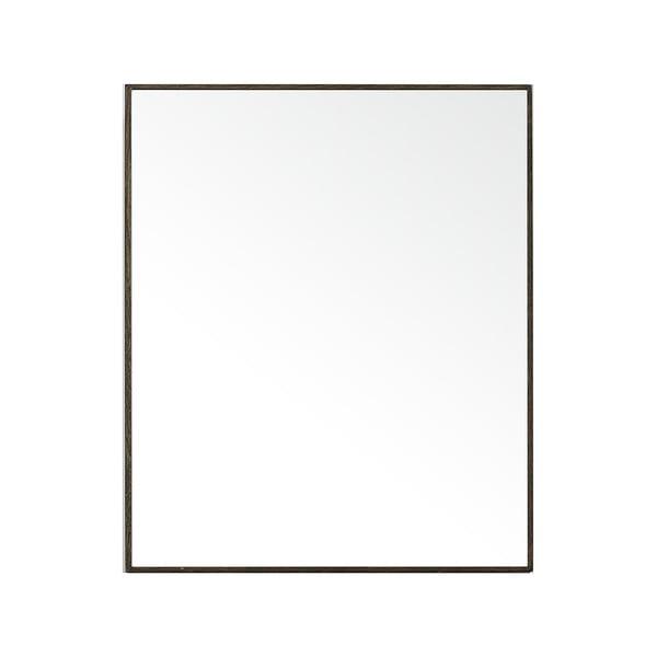 Zrcadlo s úložným prostorem Mezza Dark Wireworks, 45x55 cm