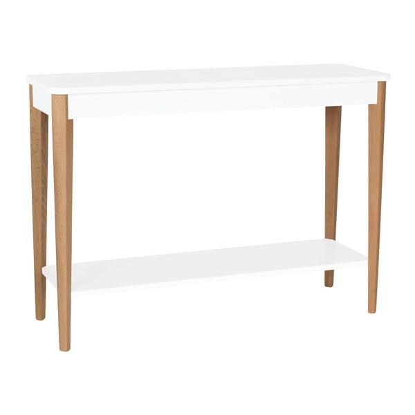 Ashme fehér konzolasztal, szélessége 105 cm - Ragaba