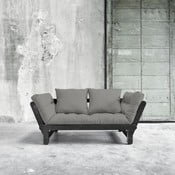 Canapea extensibilă Beat Black/Granite Grey