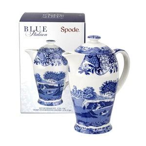 Bílomodrá porcelánová konvička Spode Blue Italian, 750 ml