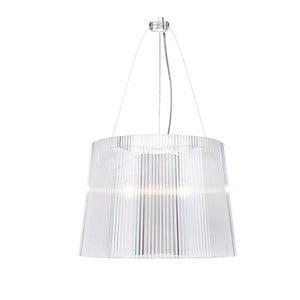 Transparentní stropní svítidlo Kartell Gé, ⌀37cm