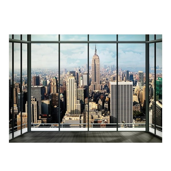 Tapeta NY Window, 315x232 cm