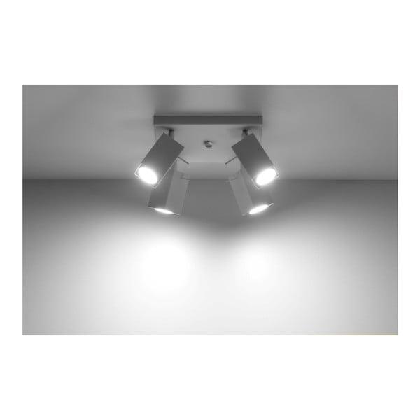 Bílé stropní světlo Nice Lamps Toscana