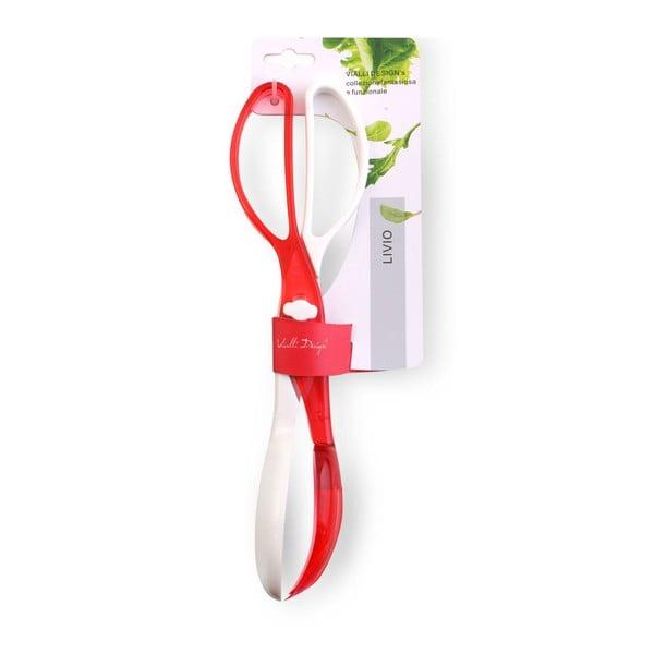 Nůžky na salát Livo, červené