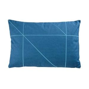 Polštář Zone Turquoise No. 1, 60x40 cm