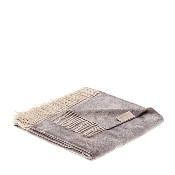 Vlněný pléd Danimarca 130x180 cm, šedomodrý