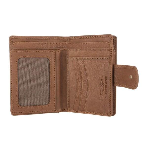 Kožená peněženka Clara Oak