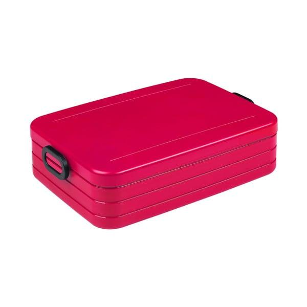 Recipient pentru prânz Rosti Mepal Ellipse Take a Break Bento, 25,5 x 17 cm, roșu