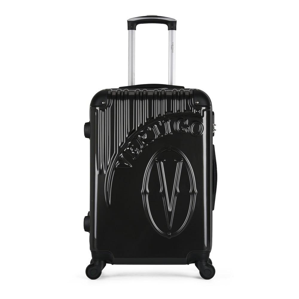 Tmavě šedý cestovní kufr na kolečkách VERTIGO Valise Grand Format Duro, 33 x 52 cm