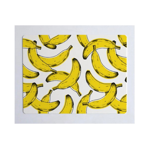Suport pentru farfurie Really Nice Things Banana, 55 x 35 cm