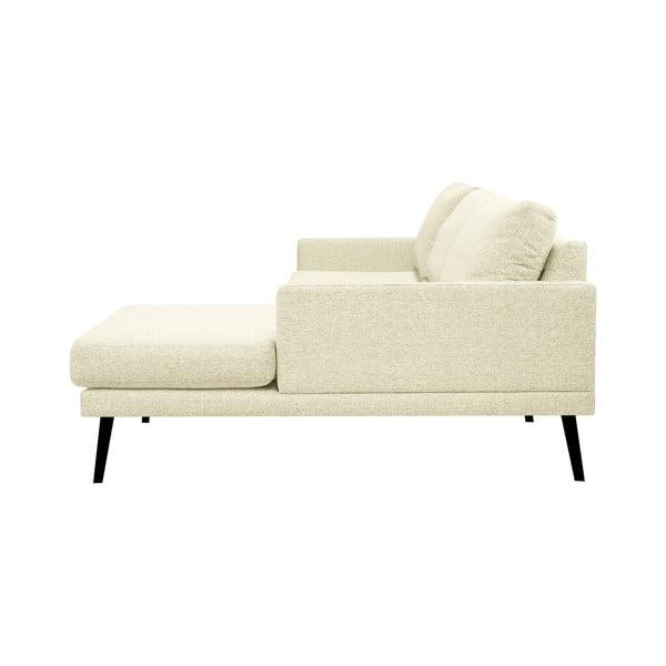 Rohová pohovka v přírodní barvě Windsor & Co Sofas Rigel, pravý roh