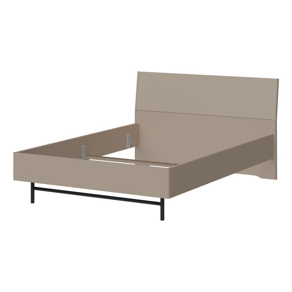 Šedá jednolůžková postel Germania Monteo, 140x200cm