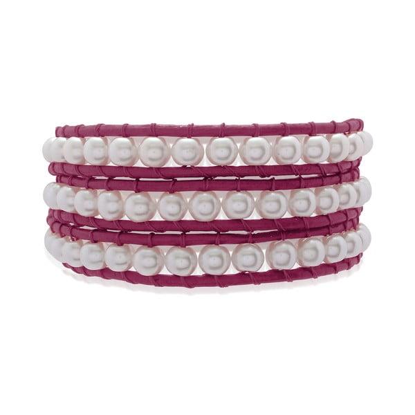 Náramek Pink Pearls