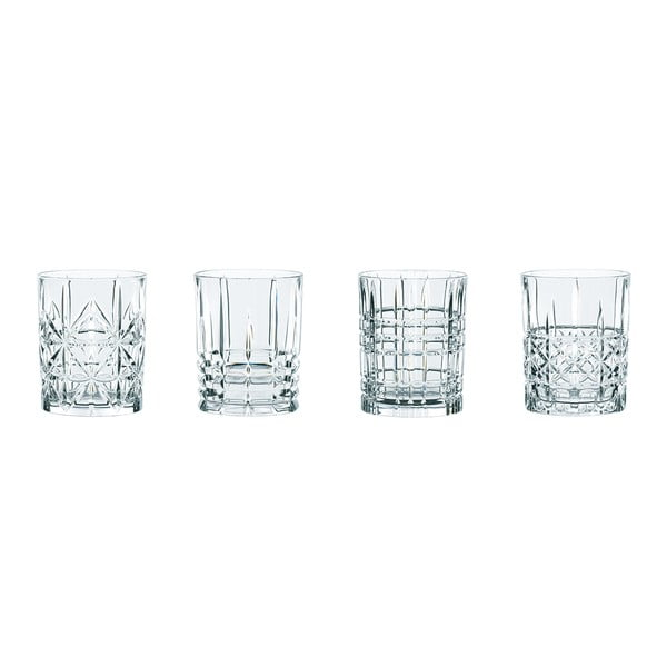 Set 4 pahare whisky din cristal Nachtmann Highland, 345 ml