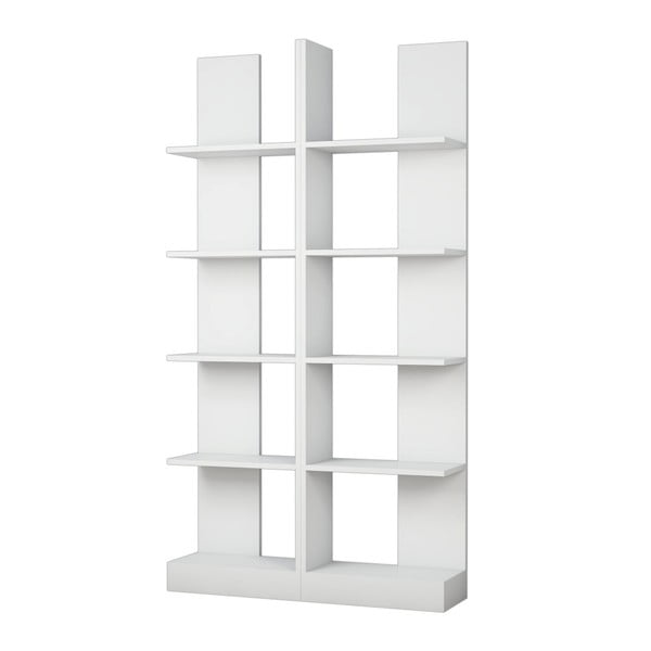 Bibliotecă Ikiz, alb